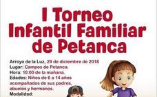I Torneo Infantil Familiar de Petanca en Arroyo de la Luz