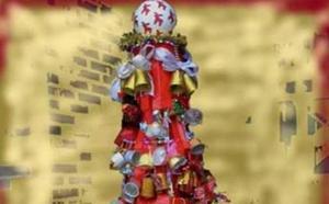 Los centros escolares de Arroyo de la Luz contribuyen a la decoración navideña de la localidad