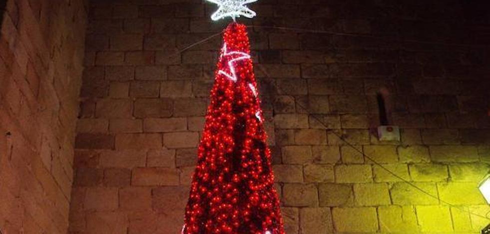 A las 18:00 horas se llevará a cabo el encendido de las luces de Navidad