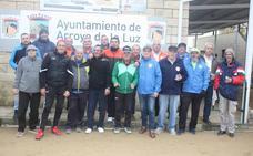 Chatino y Paco fueron los ganadores del Torneo Navidad de Petanca de Arroyo de la Luz
