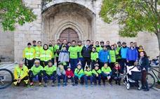V Ruta Nocturna de Navidad en Bici de la asociación Arroyo de la Luz Paisajes y Fiestas