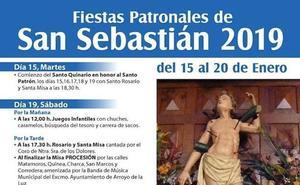 Esta tarde dan comienzo las Fiestas Patronales de San Sebastián