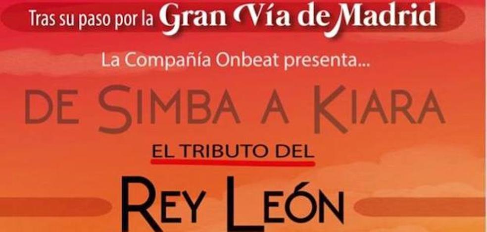 Llega a Arroyo de la Luz el musical tributo de 'El Rey León'