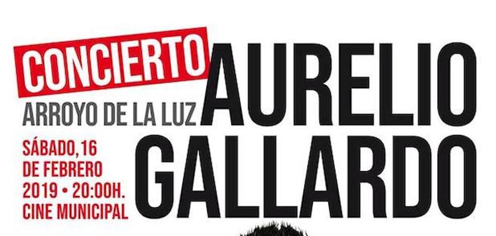 Aurelio Gallardo lleva su 'Juerga Rumbera' a Arroyo de la Luz
