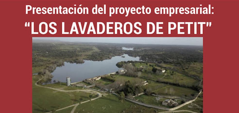 Presentación del proyecto 'Los Lavaderos de Petit' en Arroyo de la Luz