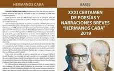 XXXI Certamen de Poesías y Narraciones Breves Hermanos Caba