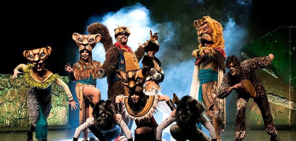 Esta tarde se representa en Arroyo de la Luz el musical tributo de 'El Rey León'