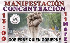 Concentración en la Plaza de la Constitución en defensa de las pensiones