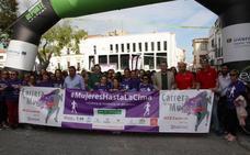 Más de 1.400 mujeres participaron ayer en la Carrera de la Mujer de Arroyo de la Luz