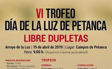 El próximo 19 de abril se celebrará el VI Trofeo Día de la Luz de Petanca