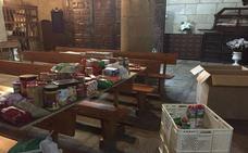 La Cofradía de la Virgen de la Luz lleva a cabo una recogida de alimentos