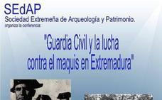 Francisco Javier García, historiador y cronista de Arroyo de la Luz, hablará esta tarde sobre la lucha contra el maquis en Plasencia