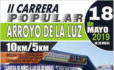 Arroyo de la Luz acoge su II Carrera Popular