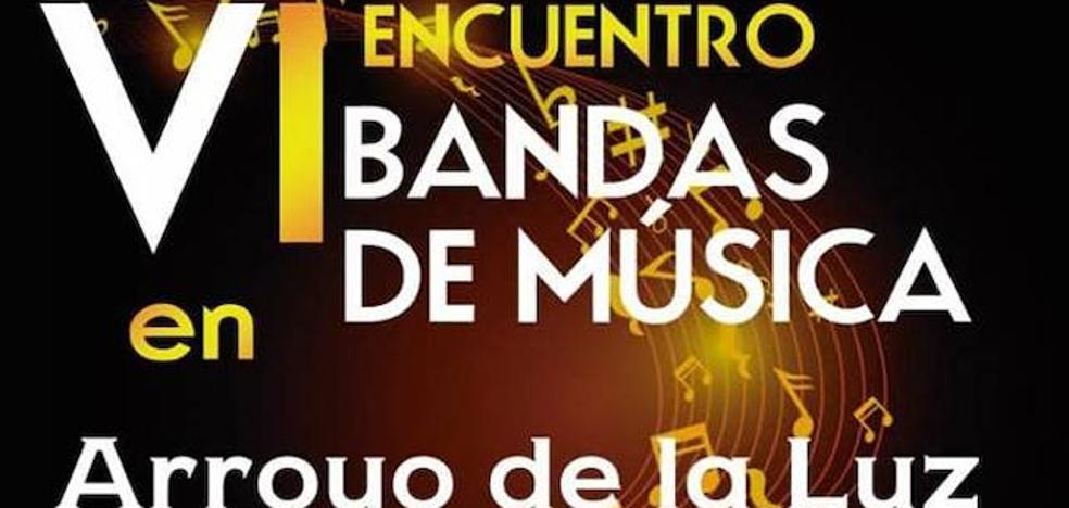 El Cine-Teatro Municipal acoge el VI Encuentro de Bandas de Arroyo de la Luz
