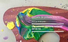 La Escuela de Pintura Arte 16 expone esta tarde en la Oficina de Turismo