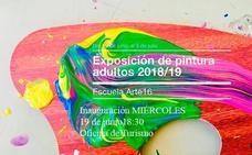 La Escuela Arte 16 expone esta tarde en la Oficina de Turismo