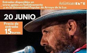Ecología y flamenco unidos en el concierto de El Cabrero en Arroyo de Luz