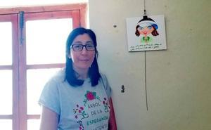 La pintora Mª Luz Tejado expone en 'Naturaleza y arte' la fuerza del paisaje