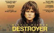 La película para el domingo es 'Destroyer. Una mujer herida'