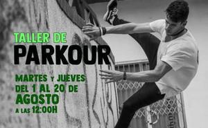 Iniciación al Parkour en el ECJ de Arroyo de la Luz