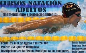 Cursos de natación para adultos