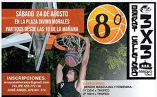 El torneo Basket Callejero 3x3 celebra este año su octava edición