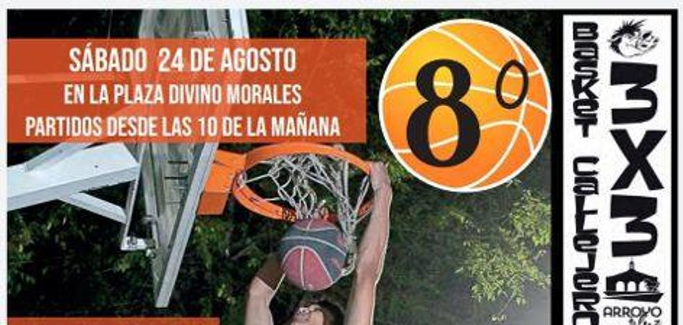 Últimos días para inscribirse en el torneo Basket Callejero 3x3 de Arroyo de la Luz