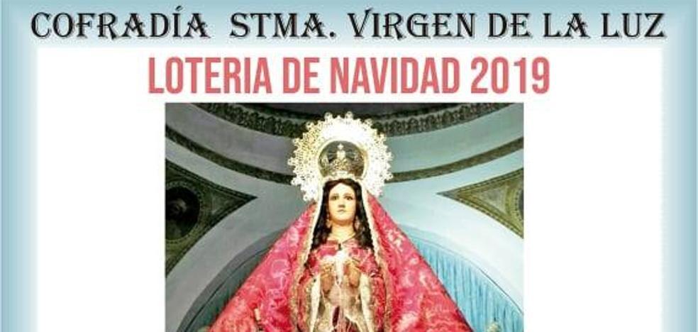 La Cofradía de la Virgen de la Luz pone a la venta la 'Lotería de la Virgen'