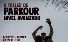 El taller de parkour finaliza el próximo 12 de septiembre