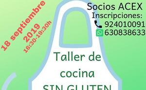 Taller de Cocina Sin Gluten en Arroyo de la Luz
