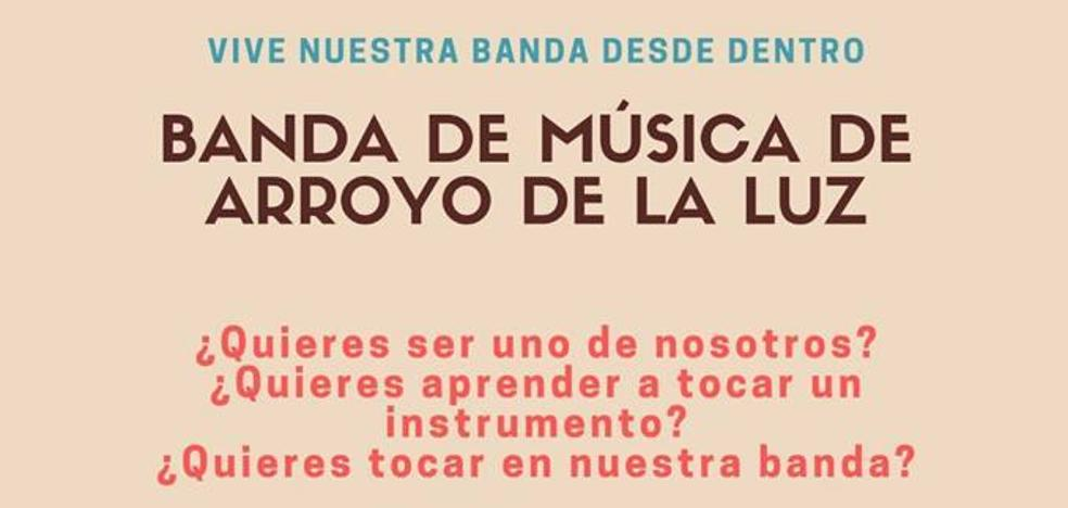 Reunión de la Banda de Música de Arroyo de la Luz