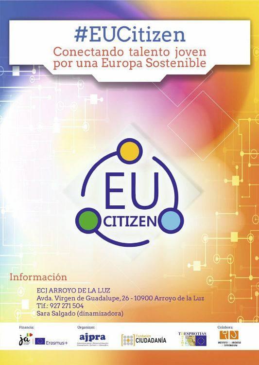 El proyecto EUCitizen busca 5 jóvenes arroyanos para participar