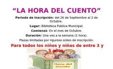 La Biblioteca Pública Municipal de Arroyo de la Luz pone en marcha 'La Hora del Cuento'