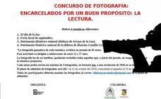 La biblioteca pública municipal de Arroyo de la Luz organiza el concurso fotográfico 'Encarcelados por una buena causa, la lectura'
