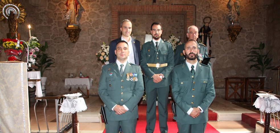La Guardia Civil de Arroyo de la Luz celebra el día de su Patrona, la Virgen del Pilar