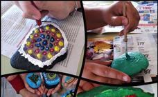 El CEIP Ntra. Sra. de la Luz fomenta la solidaridad a través de piedras decoradas