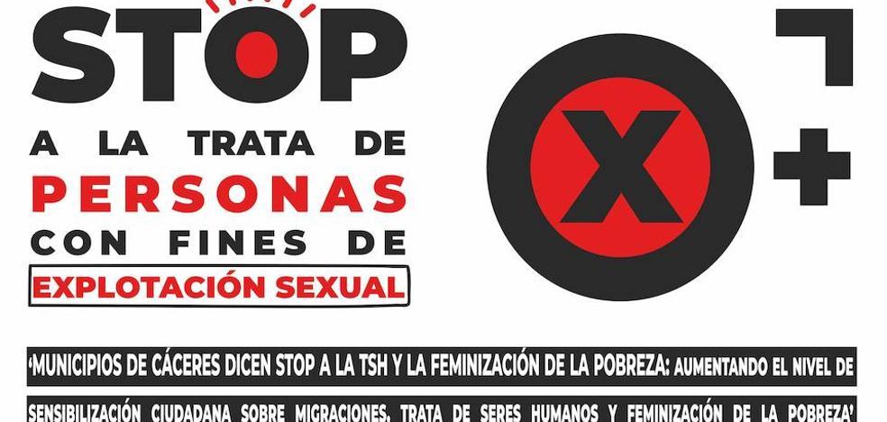 La ONGD Mujeres en Zona de Conflicto-Extremadura pone en marcha el proyecto 'Municipios de Cáceres dicen stop a la trata de seres humanos y la feminización de la pobreza'