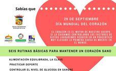 Una ruta senderista para conmemorar el Día Mundial del Corazón