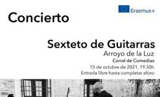 El Corral de Comedias acoge el concierto Sexteto de Guitarras