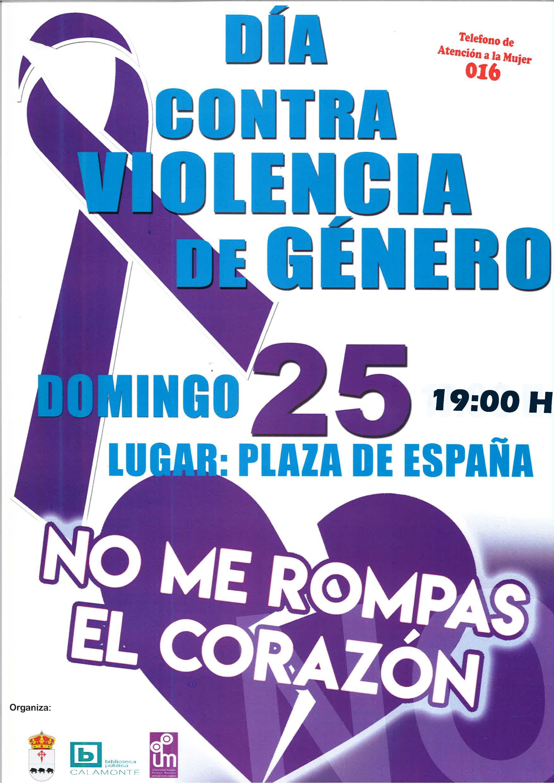Actos del PP y Ayuntamiento contra la violencia de género