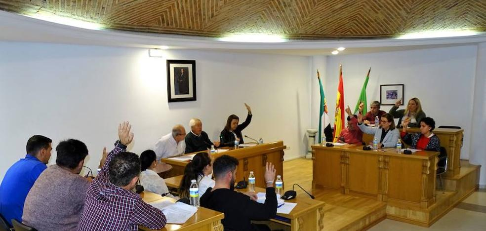 El pleno aprueba la adjudicación para la construcción del graderío del campo de fútbol