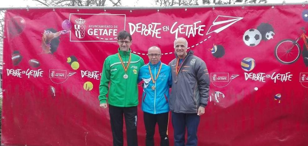 Miguel Periáñez campeón de España de Master 55 en 10 km marcha