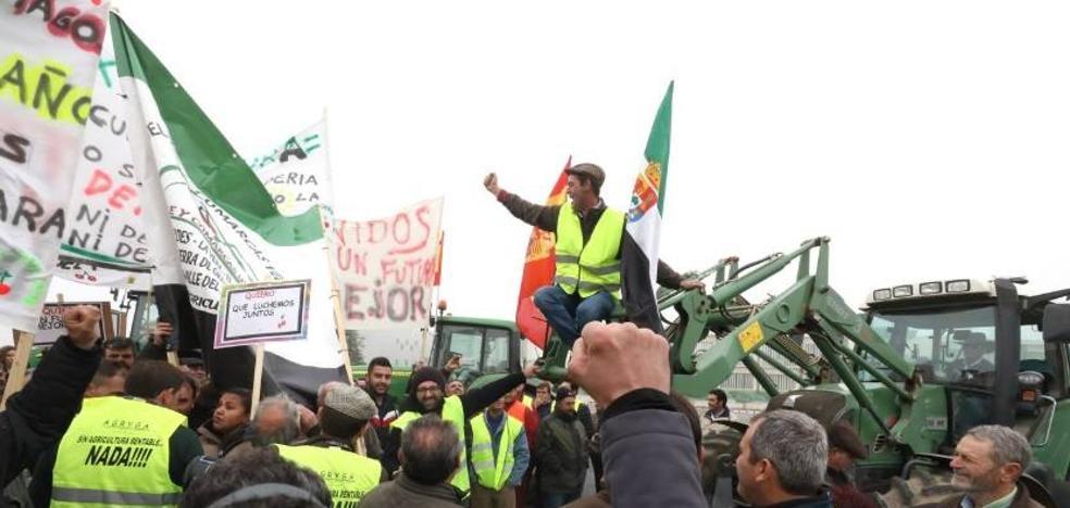 La tractorada de mañana, traslada su protesta a Presidencia de Extremadura