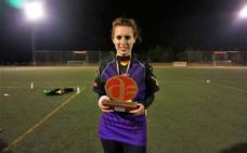Raquel Macías, campeona de España de quidditch, el juego de Harry Potter