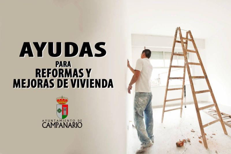 Destinan 20.000 euros en ayudas para reformas y mejoras de viviendas