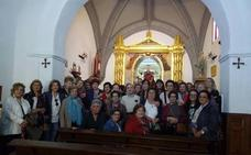 Peregrinación desde Puebla de Sancho Pérez a Piedraescrita