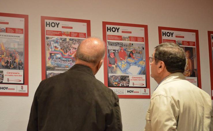 Campanario y sus gentes se 'asoman' a la portada del diario HOY