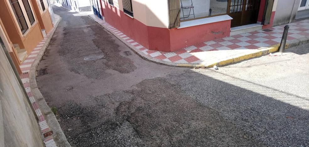 Invertirán 36.000 euros en el asfaltado de cuatro calles
