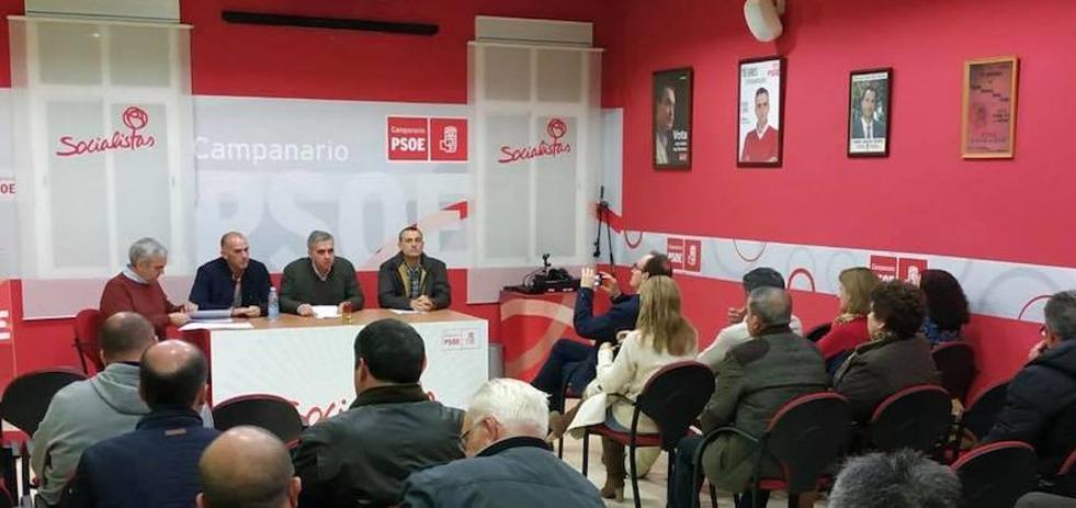 Elías López es proclamado candidato socialista a la alcaldía para las próximas elecciones municipales