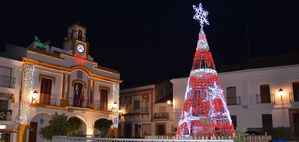 Espectáculo de luz y sonido este viernes para recibir a la Navidad